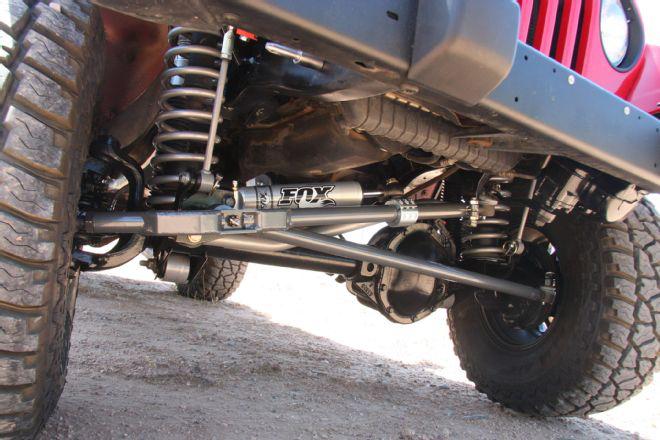 Ammortizzatore sterzo Fox 2.0 Performance Jeep Wrangler TJ ...