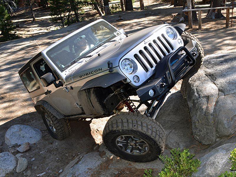 Kit completo puntoni regolabili anteriori e posteriori jeep