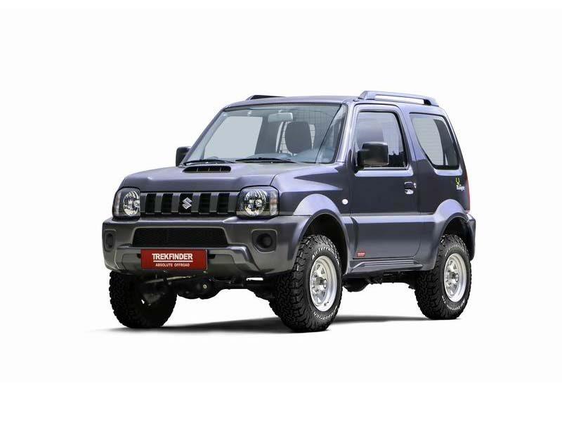 Kit di rialzo Suzuki Jimny +55 mm