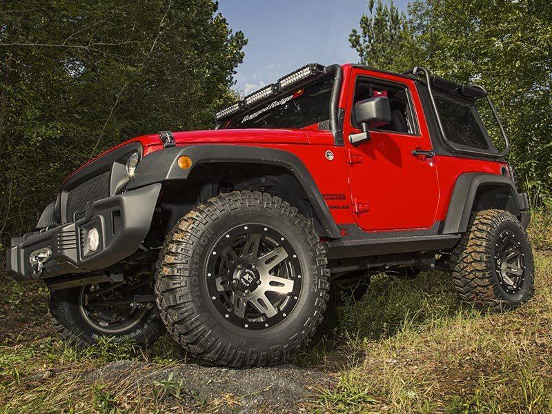 Sottoporta per Jeep Wrangler Jk